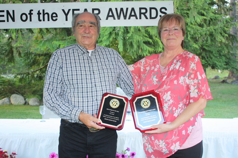 2020 Citizen of the Year Award: Ernie Knech, Lifetime Achievement Award: Janis Dahlen