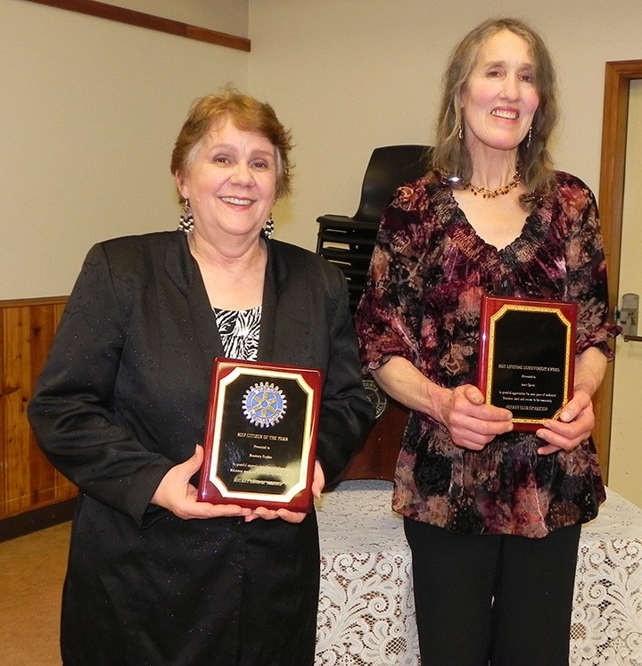 2017 Citizen of the Year: Rosemary Hughes and Lifetime Achievement Award: Janet Spicer